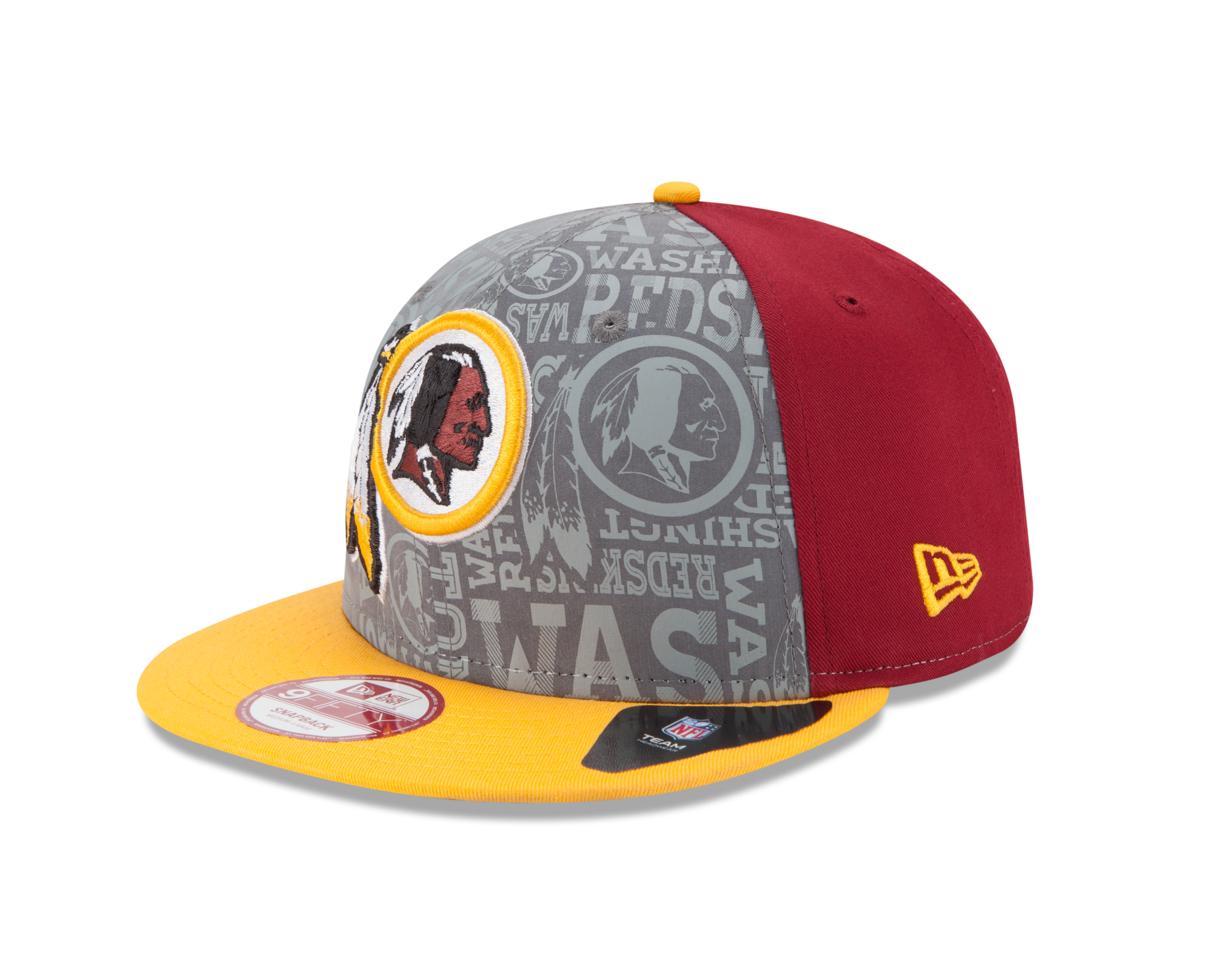 100% authentic 310ff b221a 10992598 9FIFTY NFLDRAFT14 WASRED TEAM 3QL