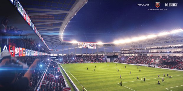 2014 rendering. Image via D.C. United.