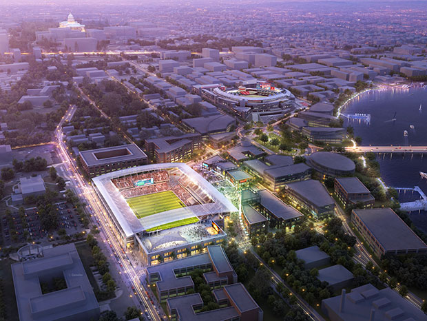 Artist Rendering from 2013. Image via D.C. United.