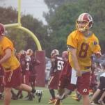 Quarterback Kirk Cousins.