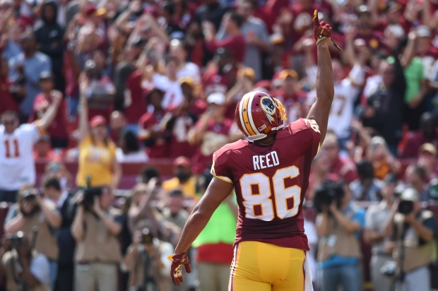Jordan Reed (and his health) will be key to how the Redskins perform in 2017. Photo by Brian Murphy.