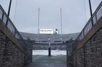 A view from the Penn State tunnel at Beaver Stadium. (Photo by Jake Russell)